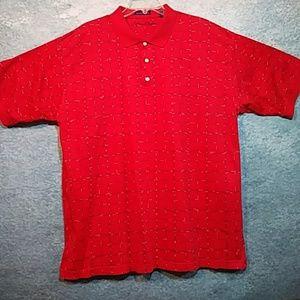 ⭐BOGO FREE Alan Flusser sporty polo shirt, sz XL